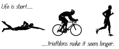 Life is Short Triathlon Mens
