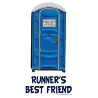 porta potty runner s best friend