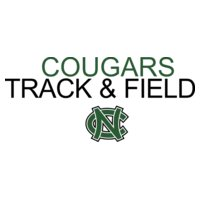Cougars TRACK   FIELD with NC logo   DN