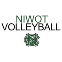 Niwot Volleyball with NC logo   DN