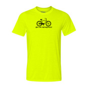 You Can Buy Happiness Men's Cruiser Bike - Light Youth/Adult Ultra Performance 100% Performance T Shirt