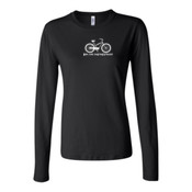 You Can Buy Happiness Women's Cruiser Bike - Bella Long Sleeve Crew Tee