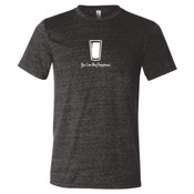 You Can Buy Happiness Beer Pint Glass - Triblend Short Sleeve T-Shirt