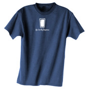 You Can Buy Happiness Beer Pint Glass - Dark ALO Sport Polyester Sport T-Shirt
