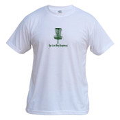 You Can Buy Happiness Disc Golf - Vapor Basic Performance Tee