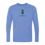 You Can Buy Happiness Disc Golf - Light Ladies Long Sleeve Ultra Performance 100% Performance T Shirt