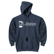 Westview Middle School White Student Council Logo - DryBlend™ Pullover Hooded Sweatshirt