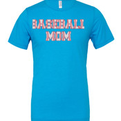 Baseball Mom with Favorite Player - Cotton/Polyester T-Shirt