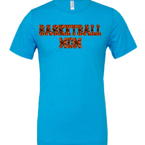 Basketball Mom with Favorite Player - Cotton/Polyester T-Shirt