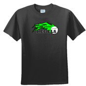 Colorado Rebels Lime - Unisex or Youth Ultra Cotton™ 100% Cotton T Shirt 2