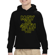 May the 40th Be With You  - Heavy Blend™ Youth 8 oz., 50/50 Hood