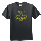 May The Force Run With You - Ladies Ultra Cotton™ 100% Cotton T Shirt