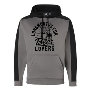 Longmont is for Beer Lovers - JAmerica Polyester Fleece Hoodie