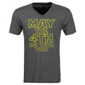 May the 4th Be With You - Triblend V-Neck T-Shirt