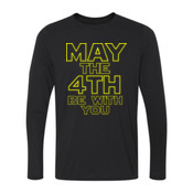 May the 4th Be With You - Long Sleeve Ultra Performance 100% Performance T Shirt