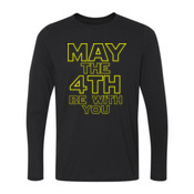 May the 4th Be With You - Youth Long Sleeve Ultra Performance 100% Performance T Shirt