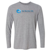 New Wave Power Talks - Light Long Sleeve Ultra Performance Active Lifestyle T Shirt