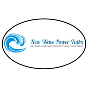 New Wave Power Talks - Oval Euro Decal