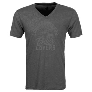 Longmont Is For Beer Lovers - Triblend V-Neck T-Shirt
