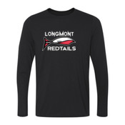 Redtails - Ladies Long Sleeve Ultra Performance 100% Performance T Shirt
