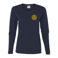 Rotary Wheel - Gildan Ladies Ultra Cotton™ Long Sleeve Missy Fit T Shirt