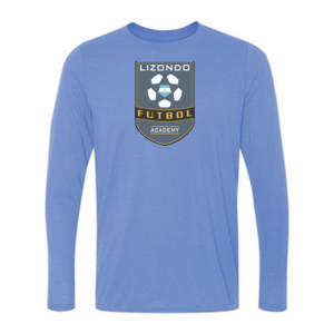 LFA Crest - Light Youth Long Sleeve Ultra Performance Active Lifestyle T Shirt