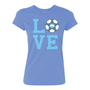 Love LFA - Ladies Ultra Performance Active Lifestyle T Shirt