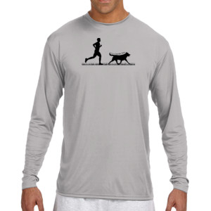 The Pacer - (S) Long Sleeve Cooling Performance Crew Light Color Shirt