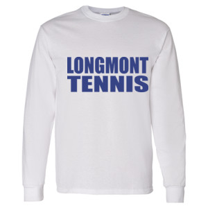 Tennis Varsity Shirt - Heavy Cotton Long Sleeve T-Shirt