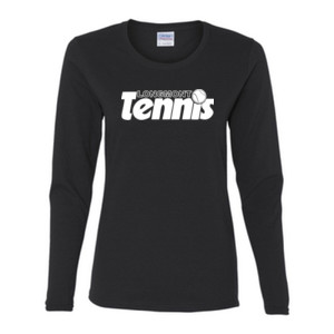 LT Tennis - Gildan Ladies Ultra Cotton™ Long Sleeve Missy Fit T Shirt