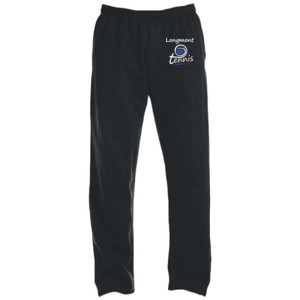 Swirl Ball  - DryBlend® 9.3 oz., 50/50 Open-Bottom Sweatpants
