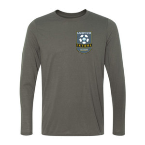 LFA Left Chest - Youth Long Sleeve Ultra Performance 100% Performance T Shirt