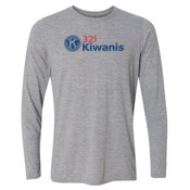 321 Kiwanis - Light Youth Long Sleeve Ultra Performance Active Lifestyle T Shirt