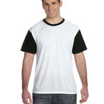 White Shirt with Black Sleeves/Back T-Shirt