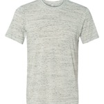 White Marble Polyester / Cotton T-Shirt