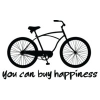 You can buy happiness   men s bike
