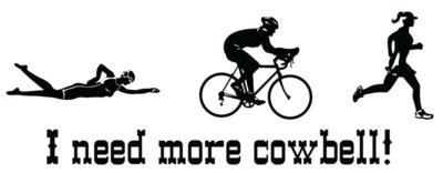 i need more cowbell triathlon womens
