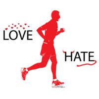 love hate with running men