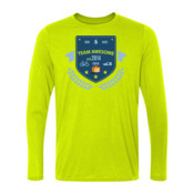 Team Awesome - Light Long Sleeve Ultra Performance 100% Performance T Shirt