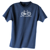You Can Buy Happiness Men's Cruiser Bike - Dark ALO Sport Polyester Sport T-Shirt