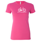 You Can Buy Happiness Women's Cruiser Bike - Ladies' Cotton/Polyester T-Shirt