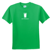 You Can Buy Happiness Beer Pint Glass - DryBlend™ 50 Cotton/50 DryBlend™Poly T Shirt