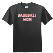 Baseball Mom with Favorite Player - Unisex or Youth Ultra Cotton™ 100% Cotton T Shirt