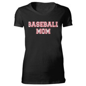 Baseball Mom with Favorite Player - Bella Favorite T-Shirt
