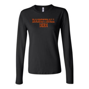 Basketball Mom with Favorite Player - Bella Long Sleeve Crew Tee