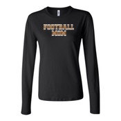 Football Mom with Favorite Player - Bella Long Sleeve Crew Tee