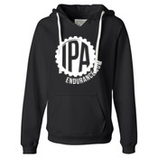 IPA Endurance - Ladies' Sueded V-Neck Hooded Sweatshirt