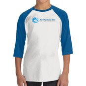 New Wave Power Talks - ALO 100% Performance Youth Baseball T-Shirt