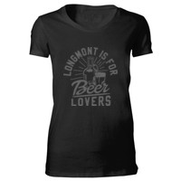 Longmont Is For Beer Lovers - Bella Favorite T-Shirt