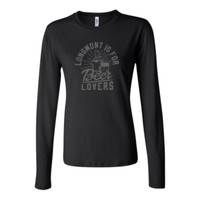 Longmont Is For Beer Lovers - Bella Long Sleeve Crew Tee